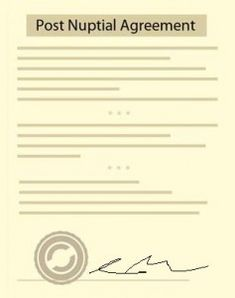 Post Nuptial Agreement Postnuptialagreement On Pinterest