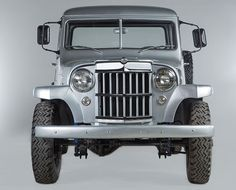1955 Willys pickup | Jeep Collection