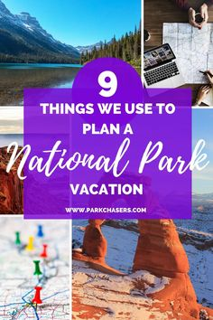 9 Things we Use to Plan a National Park Vacation - including the best tools, apps, and ways to make your next national park vacation a big success! National Park Lodges, Sequoia National Park, Grand Canyon National Park, Banff National Park, Yellowstone National Park, Arizona National Parks, American National Parks, National Park Passport, Best Places To Camp