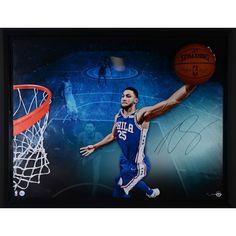 e280286f6 Ben Simmons Philadelphia 76ers Framed Autographed 52