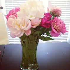 Love these flowers Peonies so pretty