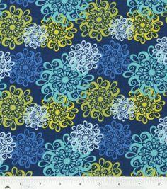 Keepsake Calico Fabric- Capri Swirl Medallion Toss