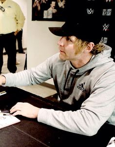 Dean Ambrose in a Hoodie