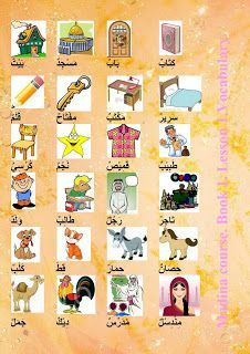 learn different languages with tips: Arabic vocabulary