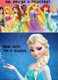 Elsa the Snow Queen\