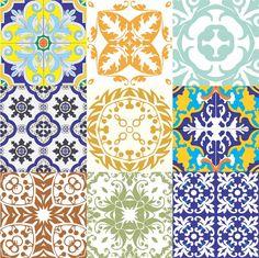 Kit+Adesivo+Azulejos+Antigos.+Frete+Grátis!+-+On+The+UAU!+Adesivos+&+Painéis+(Direta+Design)