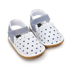 Baby Girl Summer Soft Soled Non-slip Striped Sandals – Everything For Your Baby Girl