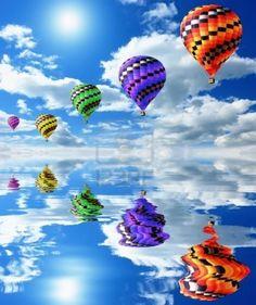 colorful-hot-air-balloons