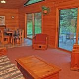 Staying in Crying Loon Cabin at Northern Outdoors!
