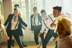 """The Lodge cast in action in the """"Believe That"""" music video"""