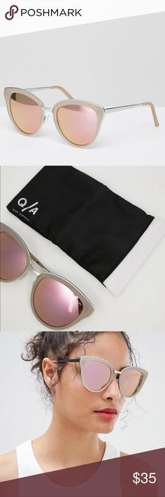 2d2e88969e97 Quay Australia Sunglasses T he Everything Little Thing festival sunglasses  from Quay Australia features