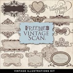 free vintage-look items