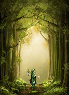 Saria's Search by RoseLight1993