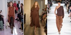Fashion color spring summer 2018: chocolate brown