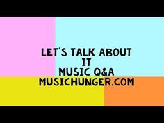 Talk about music Q&A, video interview + 2 articles. – MUSIC HUNGER Many times when we sit together and talk, there are all kinds of music related questions coming up Following an interesting conversation we had, we decided to make you a video on the subject, If you have a passion for music, music blog ideas if you like music blog post our blogmusic is the place for you! if you want to find out more and learn more about music, visit musichunger.com and tell us waht you think Let Them Talk, Let It Be, Interesting Conversation, Kinds Of Music, Thinking Of You, How To Find Out, Interview, Channel, Passion