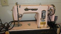Atlas Deluxe Precision Sewing Machine - Vintage