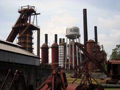 Sloss Furnaces, National Historic Landmark, Birmingham