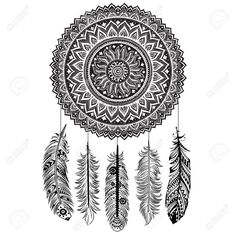 Ethnic Dream Catcher Royalty Free Cliparts, Vectors, And Stock Illustration. Pic 19484806.