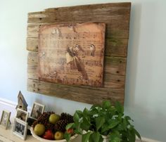 7O3A1853 600x514 Make Your Own Barn Wood Art/ mounting a new poster on old barn wood