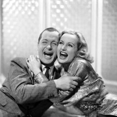 Robert Montgomery, pictured here with Carole Lombard in Hitchcock's MR. & MRS. SMITH ('41)