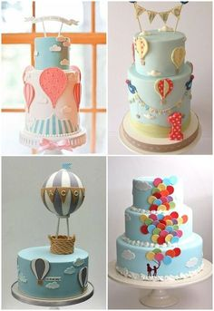 Balloon Decorations For Cakes