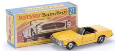 Matchbox Superfast MB27-d Mercedes 230sl