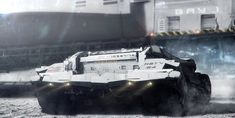 ArtStation - Moon Mining: Transporter, Adam Burn