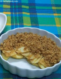 Low Calorie Apple Crumble recipe | by Tarla Dalal | Tarladalal.com | #33007