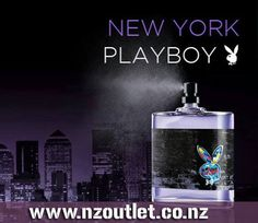 #PlayBoy New York EDT Successful, stylish, and charismatic, the Hip and Happening Playboy has the look, the charm and the know-how to live the lifestyle and to have 'The Look'. If you want a piece of the action, you need to unleash your confidence and stand out with the signature Playboy #fragrances http://nzoutlet.co.nz/product/product_details/PlayBoy-New-York-100ml-EDT