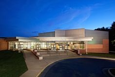 Swift Creek Middle School Auditorium Addition - BCWH Architects Auditorium Design, Church Design, Swift, Middle School, Architects, Mansions, House Styles, Ideas, Home Decor