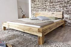 SAM® beam bed Jonas wooden bed with drawers cm Auf Lager! Wood Bedroom, Bedroom Bed, Bedroom Furniture, Diy Furniture, Furniture Design, Bedroom Decor, Hardwood Furniture, Master Bedroom, Oak Beds