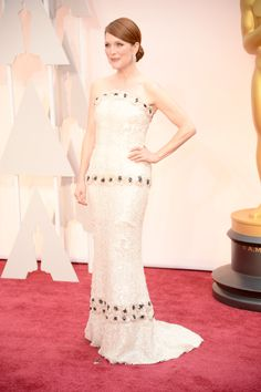 Julianne Moore in Chanel and Fred Leighton jewelry - Photo: Getty Images