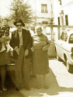 Meu tio-avô Manuel Barbosa Lopes e sua esposa.