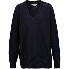 ISABEL MARANT ETOILE Marly textured knit sweater ($405) ❤ liked on Polyvore featuring tops and sweaters