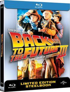 Back to The Future 3  - Zavvi Exclusive Limited Anniversary Edition Steelbook BackToTheFuture #Steelbook #BTTF
