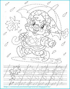 Creionasul cel istet si prietenii: Spiridusul - desenam dupa contur Workout For Beginners, Beginner Exercise, Learn Russian, Preschool Writing, Color Activities, Handwriting, Hand Embroidery, Coloring Pages, Dots