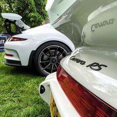 Porsche 991 4.0 GT3 RS; Porsche 964 3.8 Carrera RS