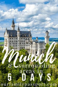 Munich is a fairytale dream! Click now to access a family-friendly itinerary for the absolute best things to do in Munich in 5 days! Europe Destinations, Places In Europe, Europe Travel Tips, New Travel, European Travel, Travel Guides, Family Travel, Places To Travel, Places To Visit