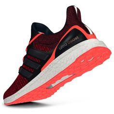 Scarpe adidas Ultra Boost nero arancione  b52bda998d3
