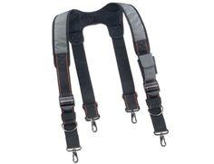 Ergodyne Arsenal 5560 Padded Adjustable Device Belt Suspenders w/ Entrance Pocket