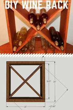How To Make A Wine Rack Storage Cube   Jeffu0027s DIY Projects