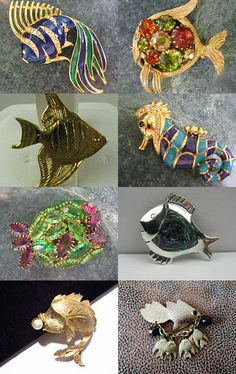 Something Fishy Going On by Linda on Etsy--Pinned with TreasuryPin.com
