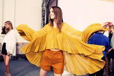 Chloé Spring 2015 RTW – Backstage – Vogue