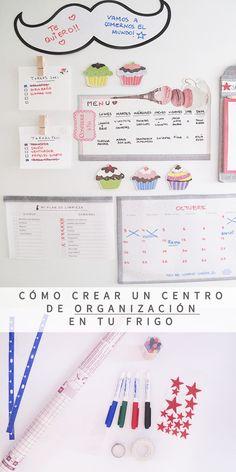 Cómo crear un Command Center (en español) Filofax, Journal Organization, Bullet Journal Inspo, Organize Your Life, Bujo, Housekeeping, Ideas Para, App, How To Plan
