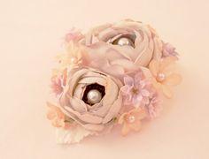 EMMA+Vintage+Bead+Embellished+Wedding+Flower+by+ZoeGraceBlooms,+$42.00