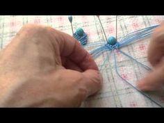 Макраме. МК по плетению сережек. Часть 1