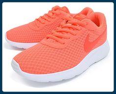reputable site 3e672 07a4f Nike - Wmns Tanjun Bright Mango Bright Crimson-White 6 B(. Road RunningTrail  Running ShoesRunning ...