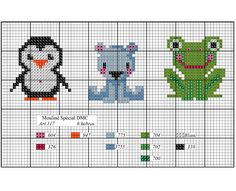 Cross Stitch Creatures - Main