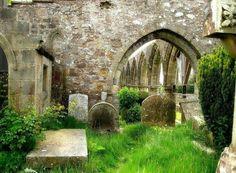 Old St Kentigern's Church in Lanark, where William Wallace married Marion Braidfute