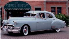 This car, a 1951 Pontiac Chieftain, had belonged to Pearl. We were driving it the night of the Palm Sunday tornadoes in Berne...we later bought the car.